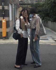 Fashion Tips Hijab .Fashion Tips Hijab Korean Street Fashion, Asian Fashion, 90s Fashion, Look Fashion, Winter Fashion, Fashion Outfits, Womens Fashion, Korean Street Styles, Chinese Fashion