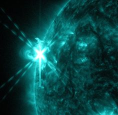 SDO image of a solar flare on 3 May 2013