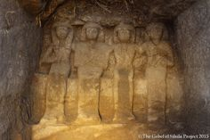 Detail of the statues found at Gebel el Silsila.Photo: via Gebel el Silsila Survey Project.