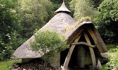 Cae Mabon, a Celtic village