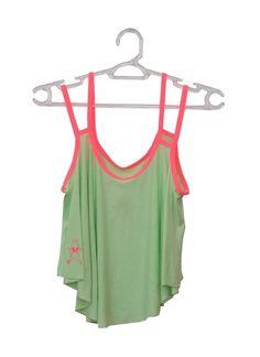 Cropped Duas Alças #neon #verde #pink #cute