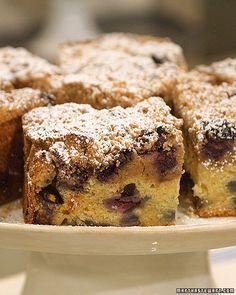 Classic Blueberry Crumb Cake Recipe | Martha Stewart