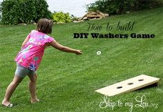 How to build a washers game