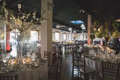 Liberty Warehouse Wedding Floral by Andrew Pascoe Photos by Katie Osgood Planning by Modern Kicks