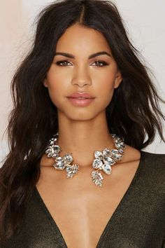 Lia Jewel Collar Necklace - What's New : Accessories