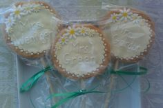 Cookie Pops - I made these cookies as a thank you gift for a group of Daisy Scout leaders.