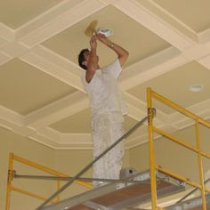 This business is a full-service professional painting company that deals with commercial clients. They also have residential painting contractors who work on houses. They also do carpentry and more.