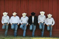 Men Cowboy Wedding Attire | Weddbook / Groom / Classic Wedding / Grooms
