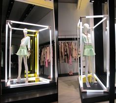 Annarita N window display by ARTE VETRINA PROJECT, Milan   Italy visual merchandising