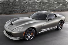 2014 #Dodge #Viper SRT GTS Anodized Carbon #SpecialEdition - Umph, we might be drooling over here.