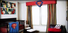 ✰✰ Bella Bambini - Little Tiny Super Hero ✰✰  This is one amazing & unique Superman Nursery Design...  Just perfect for that little tiny Super Hero of yours... :) #CustomHomeDecor