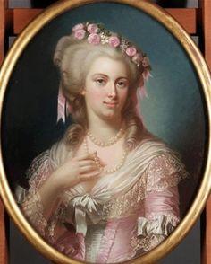 portrait de Madame de Lamballe