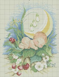 Beginning Cross Stitch Embroidery Tips - Embroidery Patterns Cross Stitch For Kids, Cute Cross Stitch, Cross Stitch Kits, Cross Stitch Designs, Cross Stitch Patterns, Cross Stitching, Cross Stitch Embroidery, Embroidery Patterns, Cross Stitch Numbers