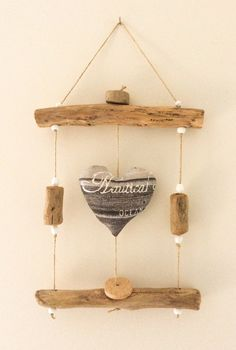 Driftwood frame by - Wood Decora la Maison Driftwood Frame, Driftwood Crafts, Bamboo Light, Crafts For Seniors, Wood Interiors, Wood Creations, Nature Crafts, Mobiles, Wood Wall Art