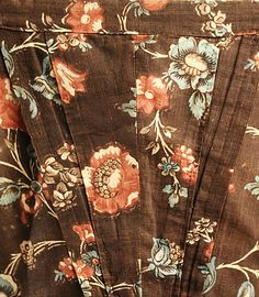 Dress  Date: ca. 1774 Culture: American Medium: cotton, linen