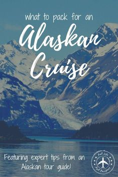 This helpful packing list for Alaska in summer will answer all your questions about what to wear and pack for your cruise or land vacation! #alaska #alaskancruise #alaskacruise #alaskapackinglist #whattopackforalaska #whattopackforalaskancruise Packing List For Cruise, Cruise Travel, Cruise Vacation, Travel Usa, Alaska Cruise Tours, Alaska Travel, Cruise Line Reviews, Top Cruise Lines, Alaska Summer