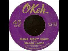 Major Lance - Mama Didn't Know