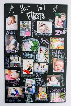 11 First Birthday Activities + Keepsakes You Need To Use For Your Party - Geburtstag - Happy Baby Baby Boy First Birthday, First Birthday Parties, Birthday Party Themes, Girl Birthday, First Birthday Board, Birthday Gifts, Birthday Banners, Baby's First Birthday, 1st Birthday Party Ideas For Girls