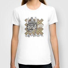Hipster llama T-shirt by Vivi Nicolin - $18.00 - Buy here: http://society6.com/vivinicolin/Hipter-llama_T-shirt#11=49&4=104