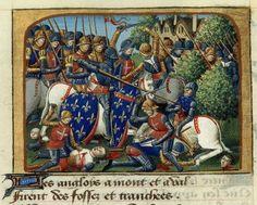 La batalla de Formigny por Martial d'Auvergne