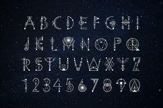 Sacred Geometry Font by Aleksandra Slowik on @creativemarket
