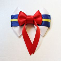 Donald Duck Bow by SmallWorldBows on Etsy, $8.00
