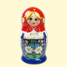 "SHOP-PARADISE.COM Matrjoschka ""Blauer Sarafan"" (M5), ca. 17 cm 24,36 € http://shop-paradise.com/de/matrjoschka-blauer-sarafan-m5-ca-17-cm"