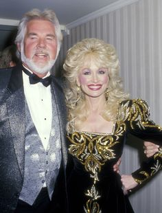 1988 Dolly and Kenny Rogers
