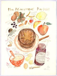 Chocolate chip cookie recipe print, Kitchen art, 8X10 print