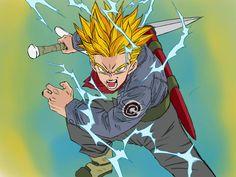 Trunks Super Saiyan, Dbz, Dragon Ball Z, Anime, Hero, Deviantart, Future, Fictional Characters, Dragons