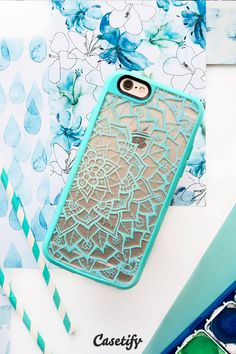 Click through to see more iPhone 6 case designs by Laurel Mae >>> https://www.casetify.com/laurelmae/collection #mandala #lace #laceprint #protective #phonecase | @casetify