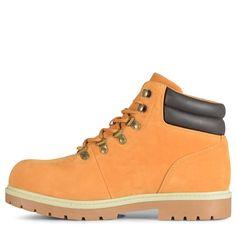 Lugz Mens Briarwood Mid Top Lace Up Boots WheatBarkCreamGum