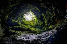 Skyrim Hag's End irl: Algar do carvao (ilha Terceira)