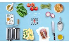 Look and Cook. The App Date