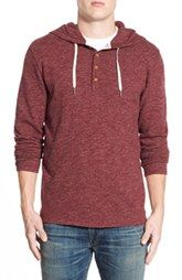 Lucky Brand Sueded Jersey Hoodie