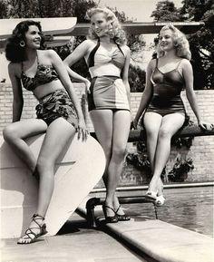 1947 vintage bathing suit