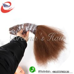 Africa brown color synthetic hair extension yaki straight rosa hair products bulk hair freetress hair crochet free shipping