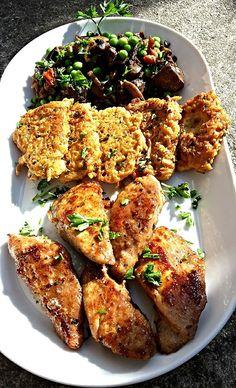 Szűzpecsenye Budapest módra, tócsnival Budapest, Chicken Wings, Keto, Food, Essen, Meals, Yemek, Eten, Buffalo Wings