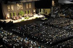 University of Central Florida spring graduation ceremony @Lori Blakey Knights