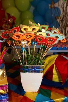 Tema para festa de aniversário: Carnaval - Crescer   Festa de aniversário
