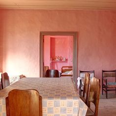 Is there ever enough Pink not in this Crete Home Interior #architecture #building #house #design #art #architecturelovers  #modernhome #homedesign #design #contemporarydesign #modernhouse  #ruralarchitecture #holidayhome