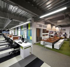AEI Architecture and Interiors - Carpet tile storage solution