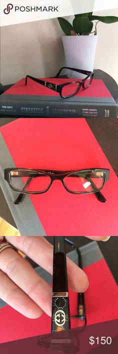 Gucci GG 3201 eyeglass frames Authentic RXable frames. Currently has my old RX in them. Rarely worn. Some scuffs on temples. 51-14-135. Unfortunately I do not have the Gucci case. Gucci Accessories Glasses