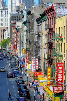 Lower Manhattan's Chinatown