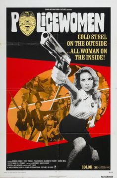 Policewomen - The Grindhouse Cinema Database Cult Movies, Action Movies, Horror Movies, Creepy Movies, Watch Movies, Vintage Movies, Vintage Posters, Tango, Tv Shows