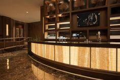 LightPlane Panels with ViviStone Honey Onyx, at the InterContinental Hotel, Dallas, Texas (F+S)