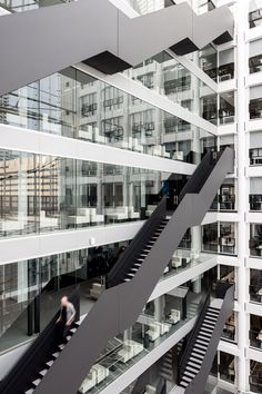 "OMA explores ""new ways of working"" with remodelled government offices"