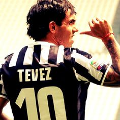 Tevez, scoring the only goal for Juventus  Supercoppa Champions