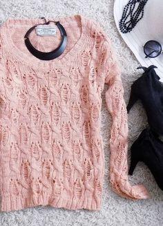 Kup mój przedmiot na #Vinted http://www.vinted.pl/damska-odziez/dlugie-swetry/7757436-rozowy-pastelowy-sweterek