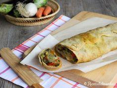 Strudel di Verdure con Pasta Matta  Un rustico semplice e vegetariano!